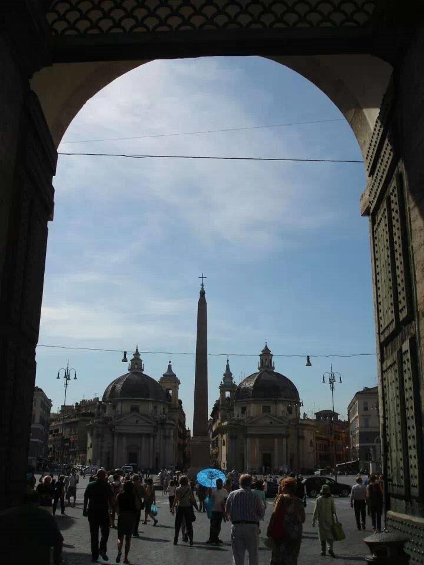 Caminhando por Roma - PIAZZA DEL POPOLO
