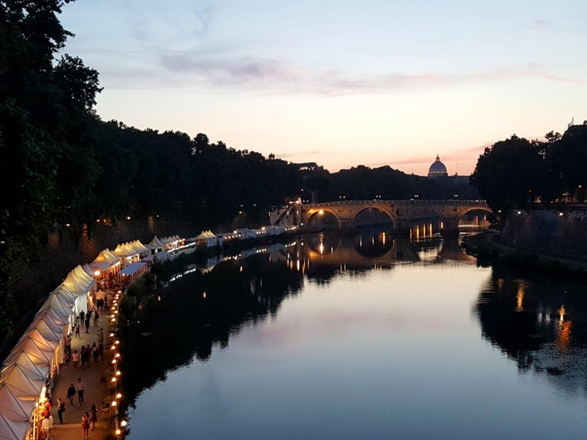Lungo il Tevere - Verão Roma - Blog VoupraRoma