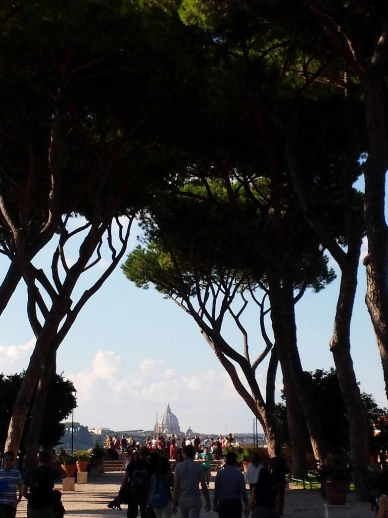 GIARDINO DEGLI ARANCI - Vista Panorâmica de Roma