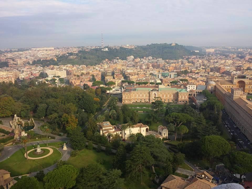 Jardins Vaticano - Foto Ana Venticinque