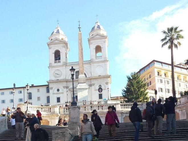 escadaria Trinità dei Monti