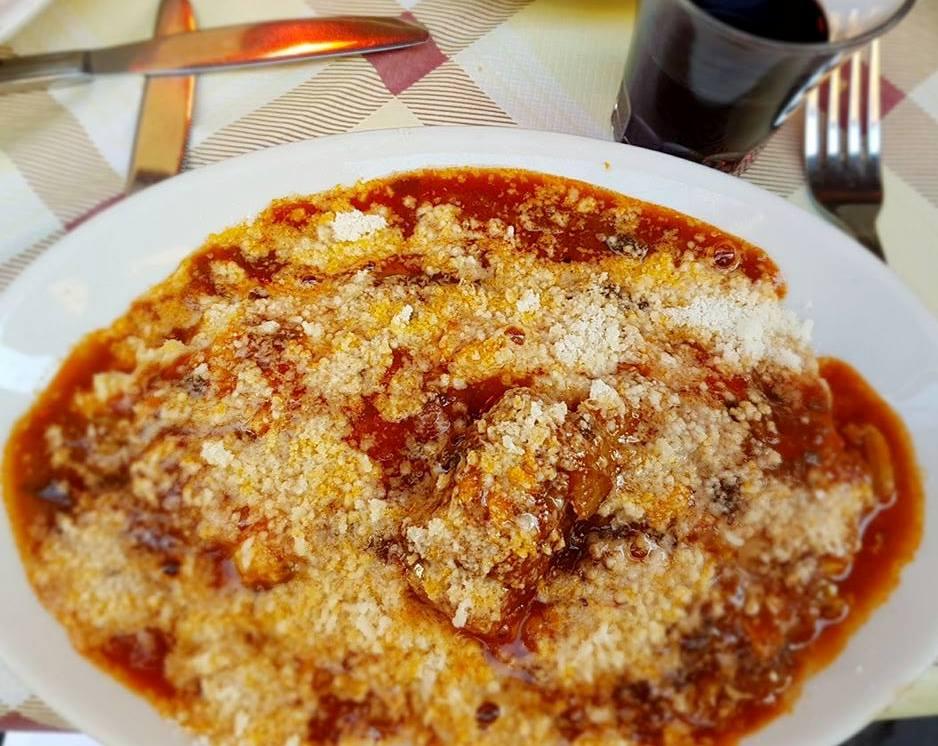 Onde comer em Trastevere - polenta - blog Vou pra Roma