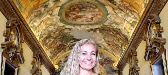 Visita à Embaixada do Brasil em Roma