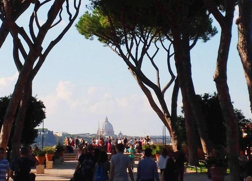 giardino degli aranci - blog Vou pra Roma
