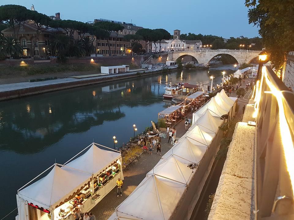 verão - por do sol mais tarde - Roma - Blog Vou pra Roma