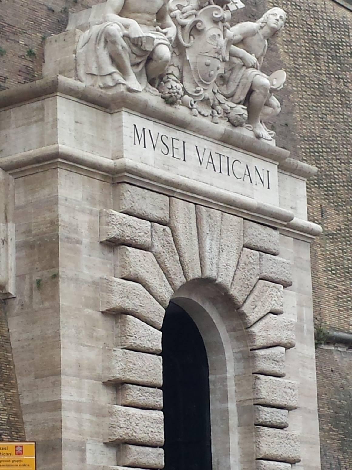 MURO MUSEUS DO VATICANO- Blog VoupraRoma