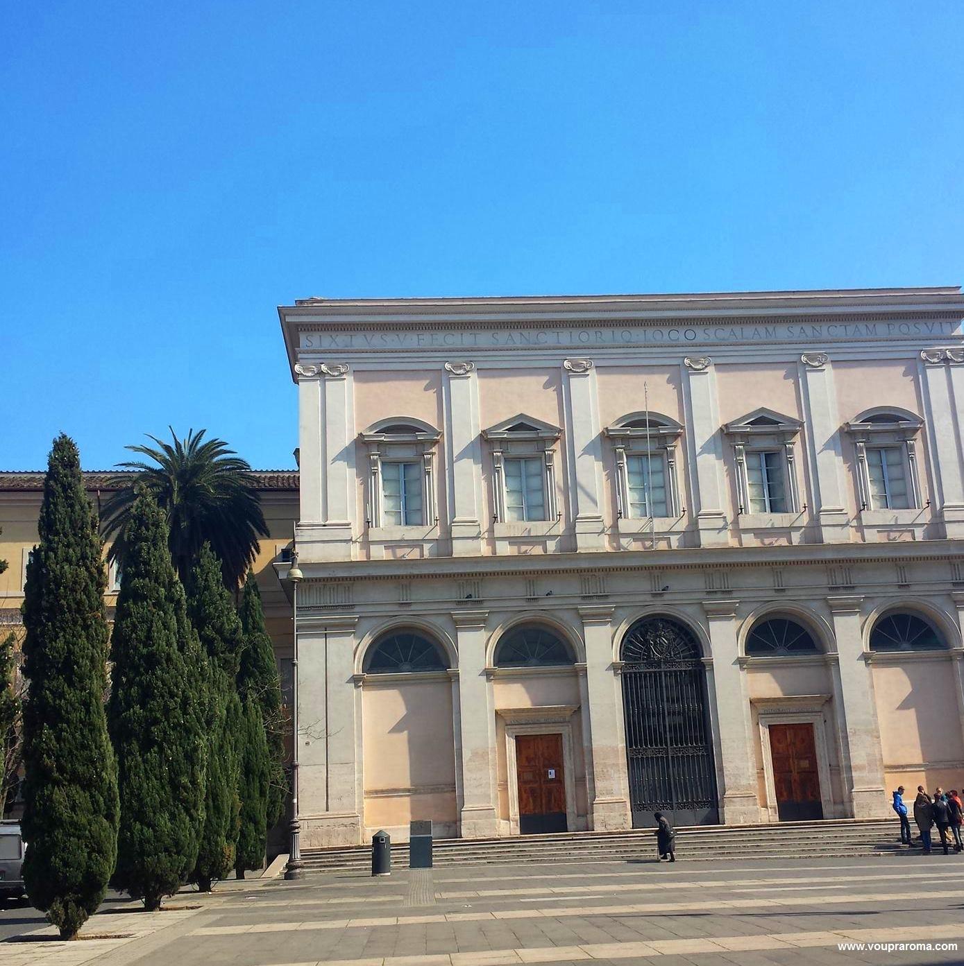 San Salvatore della Scala Santa - FOTO Ana Venticinque