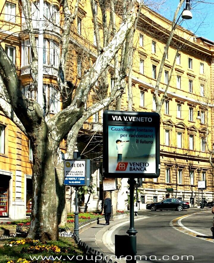 VIA VENETO - ROMA foto Ana Venticinque