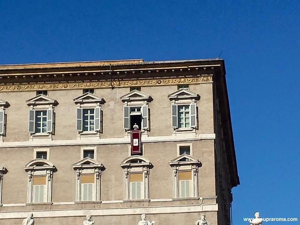 Angelus - Ver o Papa - blog Vou pra Roma