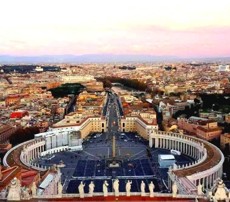 Vista da Cupula da Basilica de São Pedro - Blog Vou pra Roma