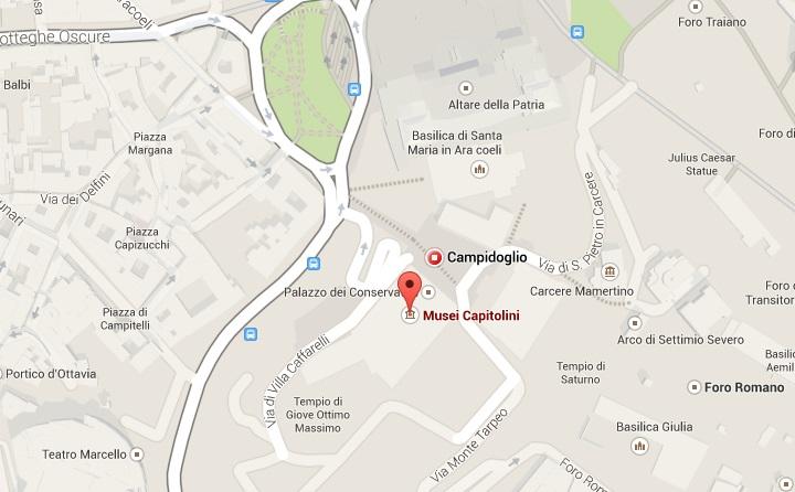 MAPA - CAMPIDOGLIO/MUSEI CAPITOLINI
