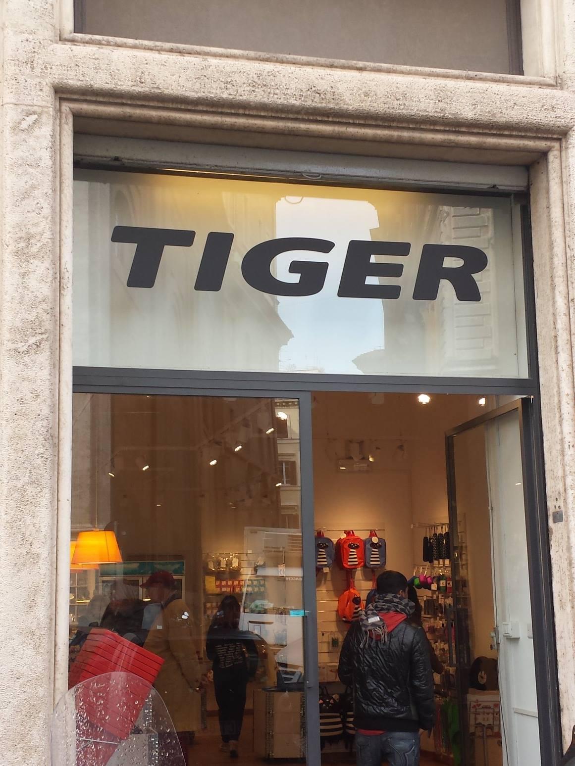 LOJAS TIGER ROMA