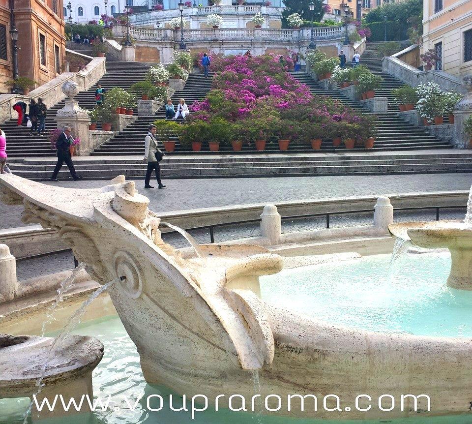 Fontana della Barcaccia - Bernini