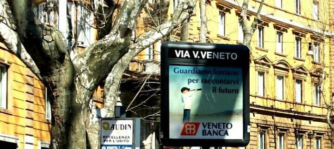 Via Veneto, glamour em Roma.
