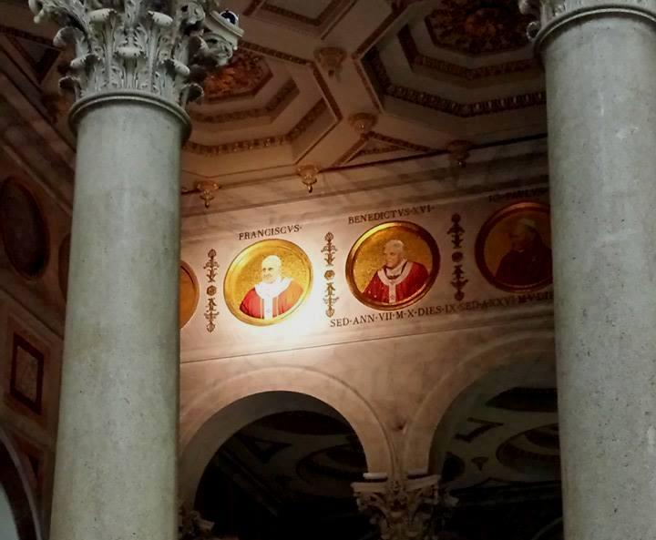 Basílica de São Paulo Fora dos Muros - detalhes - Blog Vou pra Roma