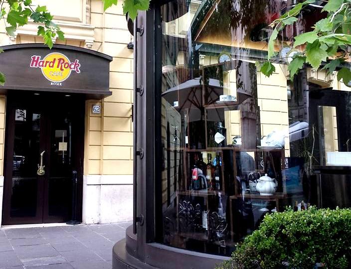 Via Veneto - Hard Rock Cafe - Blog Vou pra Roma