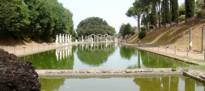 Villa Adriana em Tivoli, perto de Roma