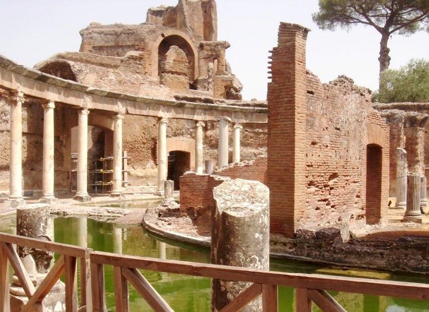 Villa Adriana - Tivoli - Termas - Blog Vou pra Roma