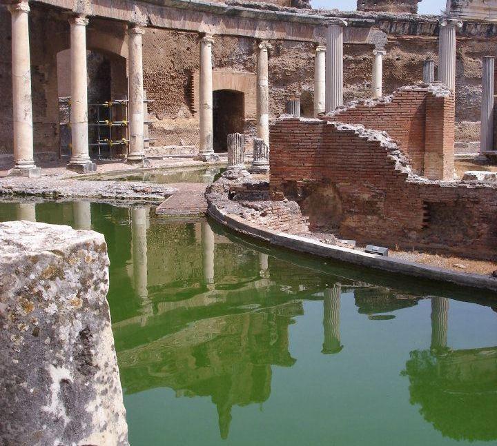 Villa Adriana - Tivoli - Termas - Vou pra Roma