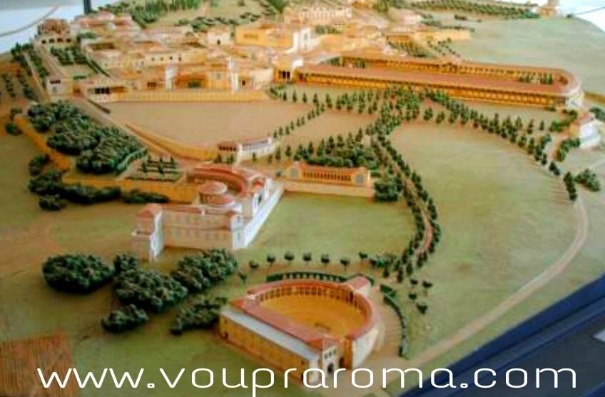 Villa Adriana - Tivoli - MAQUETE VILLA ADRIANA