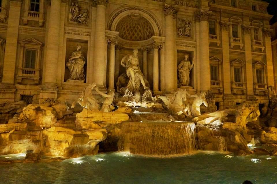 Roteiro principais atrações de Roma em três dias - FONTANA DI TREVI