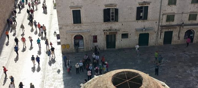 Dubrovnik um lugar incrível, perto de Roma.