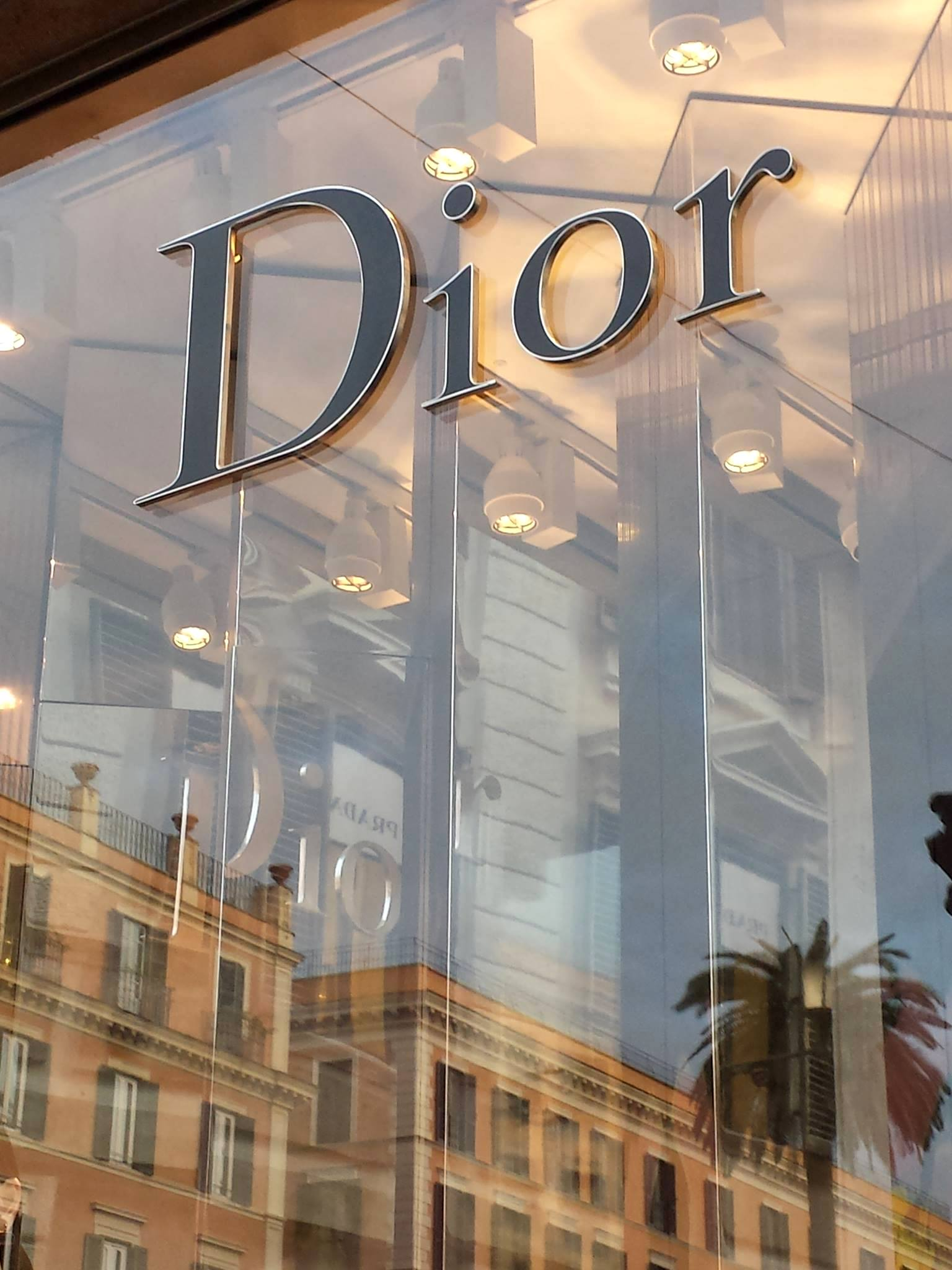 Dior em Roma