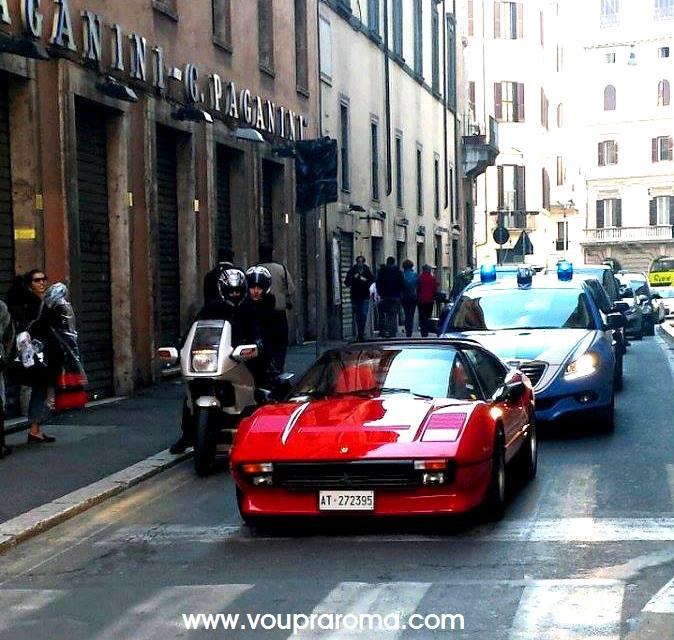 Chegando de carro a Roma - Blog VoupraRoma