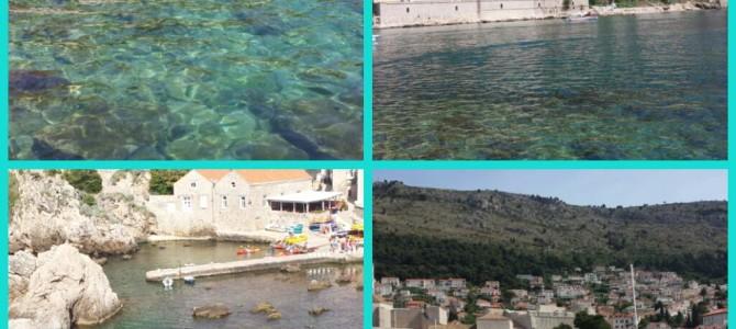 O mar de Dubrovnik – Croácia