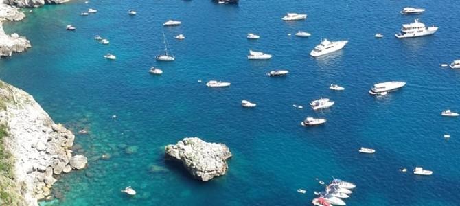 Bate e volta de Roma a Capri