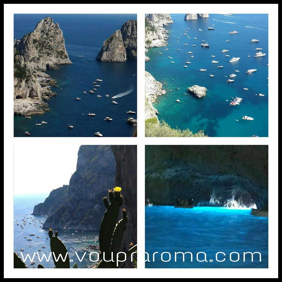 Um dia em Capri - PASSEIO EM VOLTA DA ILHA DE CAPRI