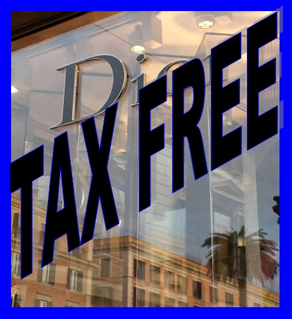 Antes de Viajar o que preciso? Tax Free