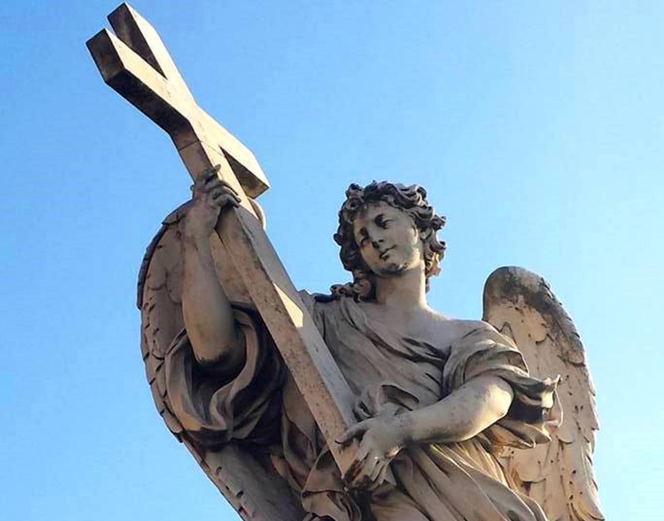 Anjos Bernini - Ponte Sant'Angelo - Roma - Blog Vou pra Roma
