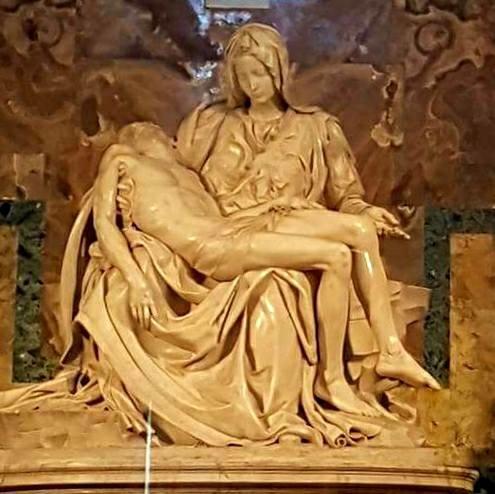 Pieta - Basilica San Pietro - Blog Vou pra Roma
