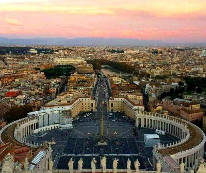 Vista da Cúpula da Basílica de São Pedro - Blog Vou pra Roma