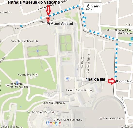 MUSEUS DO VATICANO - A FILA