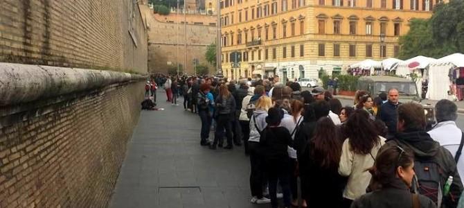 Museus do Vaticano grátis – Como é a fila?