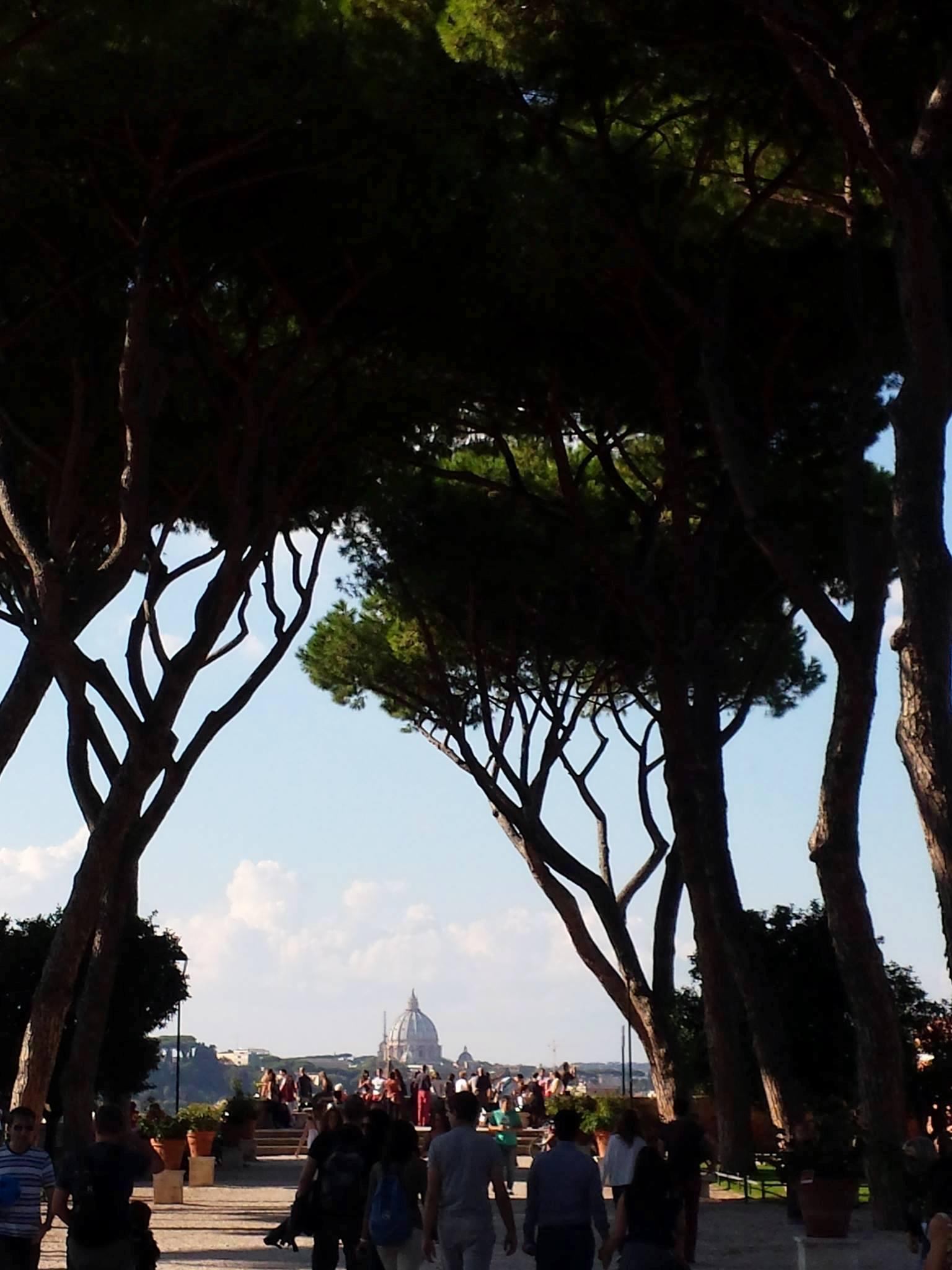 Caminhando por Roma - GIARDINO DEGLI ARANCI