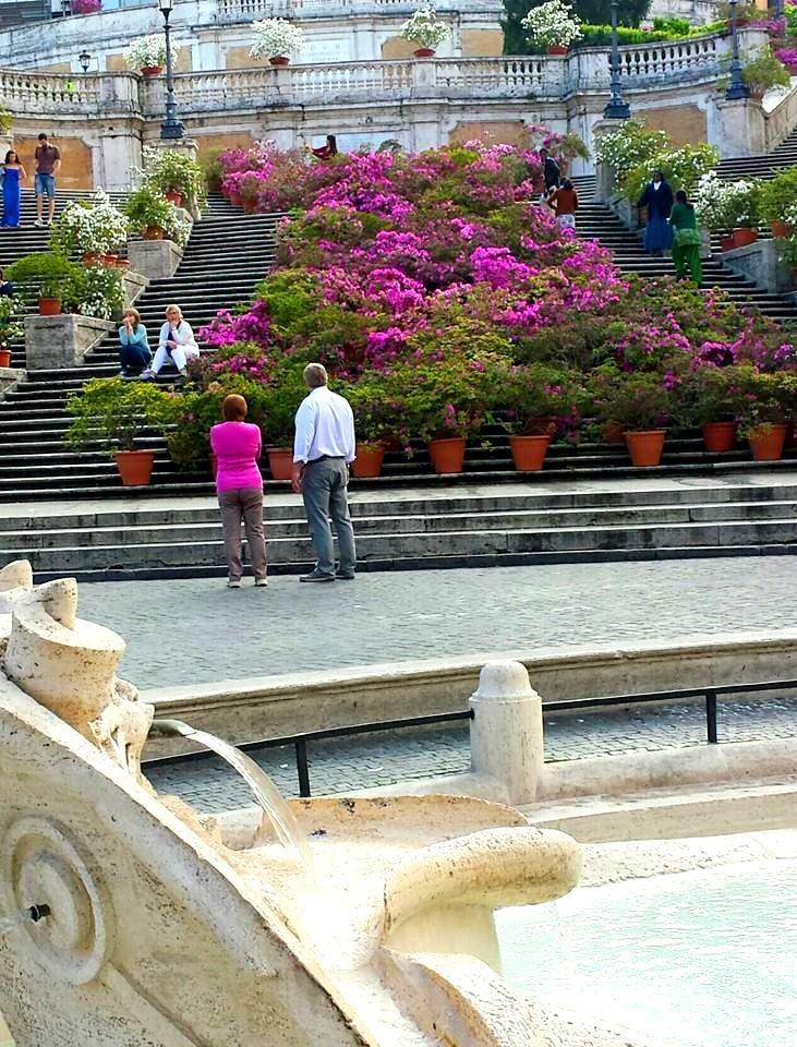 Caminhando por Roma - PIAZZA DI SPAGNA