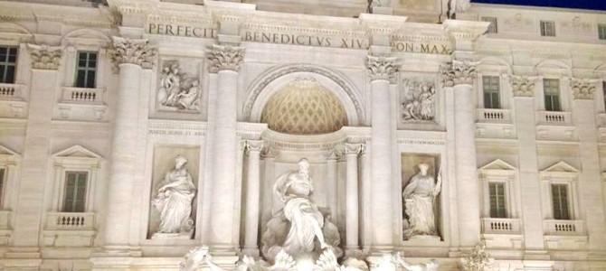 Caminhando por Roma