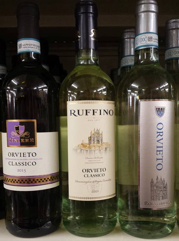 VINHOS ITALIANOS NO SUPERMERCADO
