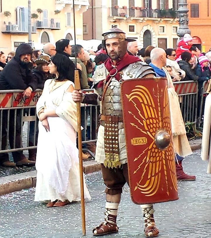carnaval em Roma - desfile - blog Vou pra Roma
