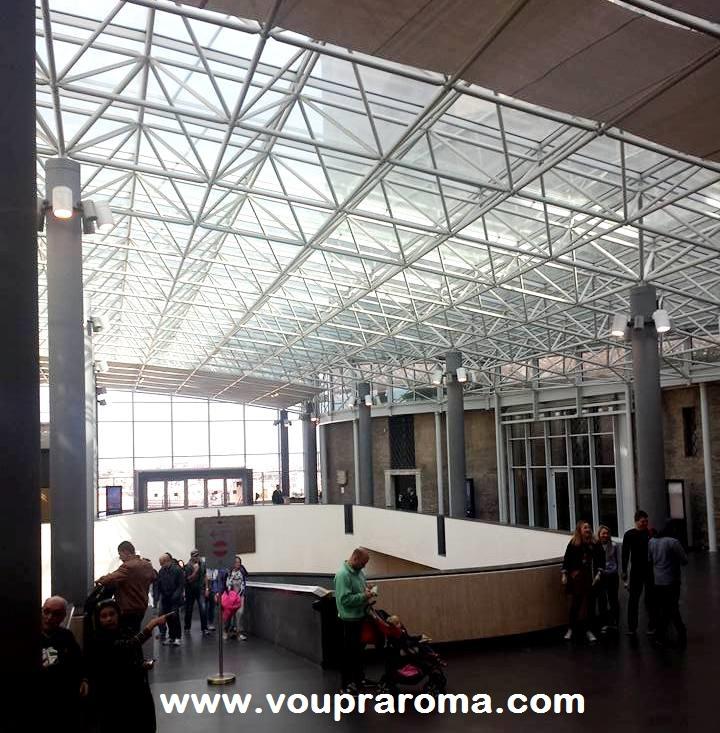 MUSEUS VATICANOS - INTERIOR ENTRADA