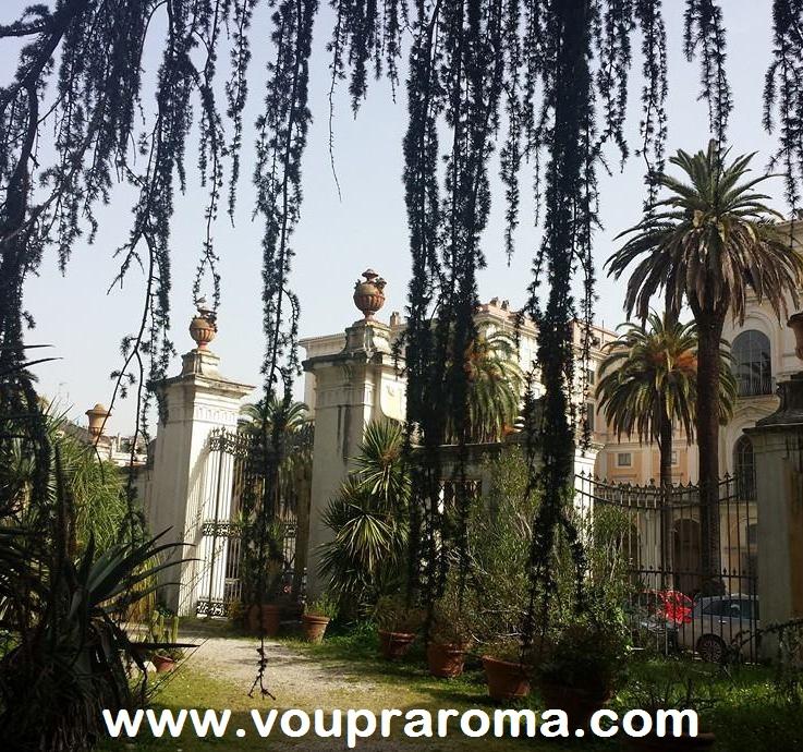 JARDIM BOTÂNICO ROMA - Palazzo Corsini - foto Ana Venticinque