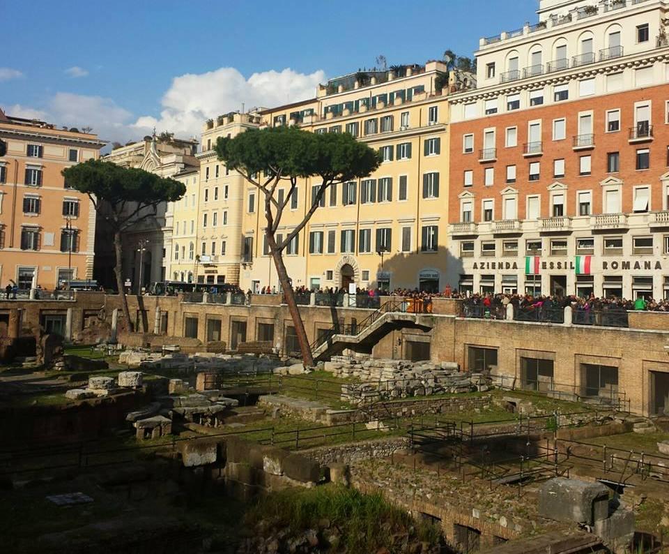 Morte de Cesare - Largo di Torre Argentina - Blog Vou pra Roma