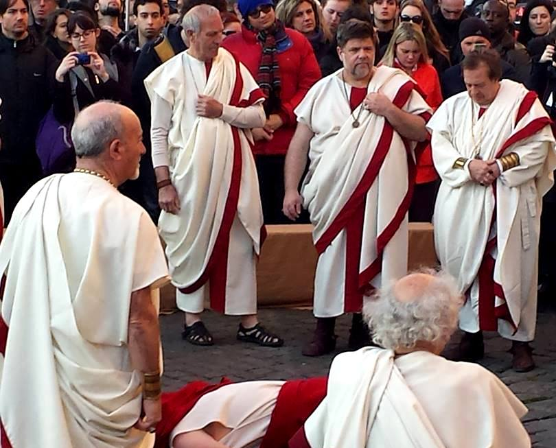 morte de Giulio Cesare em Roma - Blog Vou pra Roma