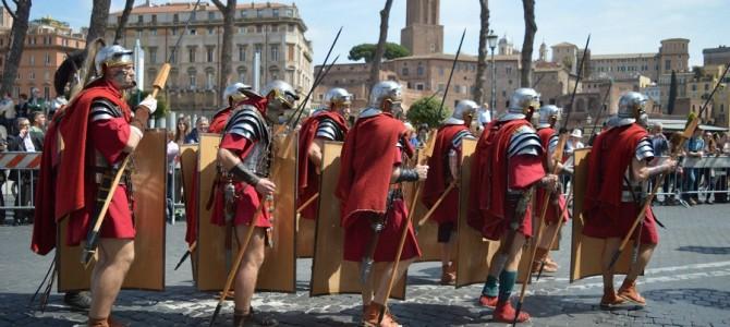 Festa do Aniversário de Roma 2769 anos.