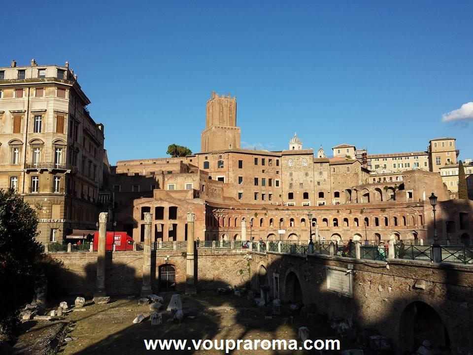 Reconstrução Virtual dos Fóruns Imperiais - Forúm de Traiano - Blog Vou pra Roma