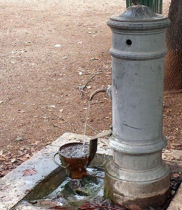 NASONE fonte de Roma - FOTO Ana Venticnque