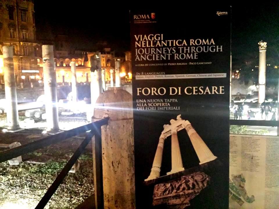 VIAGEM A ROMA ANTIGA - FORUM DE CESAR